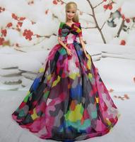 (3 off 13 usd ) Handmade Wedding Evening Dress Clothes  for Barbie Doll