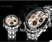 HK Free Shipping Top Brand Luxury Pagani Design Business casual sports chronograph calendar luminous belt men's Gift watches