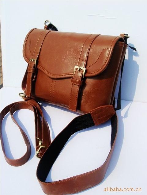 2013 Korean Fashion PU Leather modelled after an antique Bag Cross Body Messenger Shoulder Bags Wholesale Handbag Gzlx29(China (Mainland))
