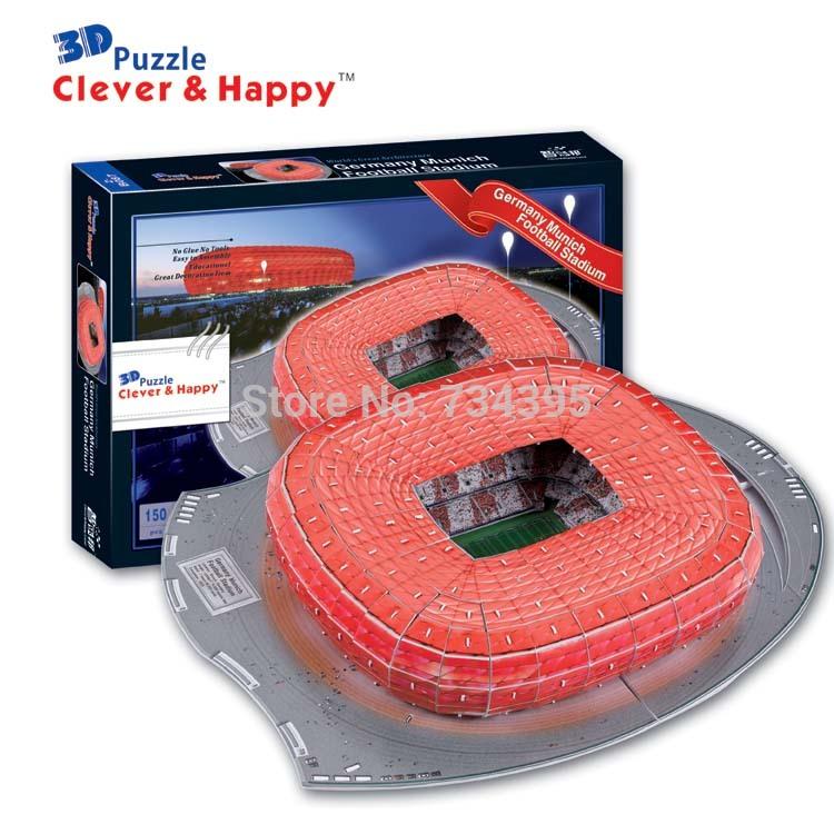 Fanlar boyutlu model kağıt diy çocuklar için eğitici oyuncaklar