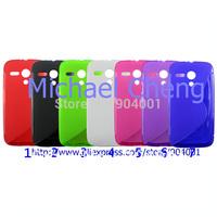 For Motorala MOTO G case,Soft  S line tpu gel case for MOTO G case cover
