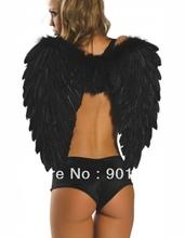 Wholesale zwarte engel outfit