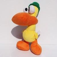 "Free Shipping 10""25CM Pocoyo Pato Yellow Duck Soft Plush Toy Doll Retail"