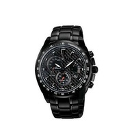 New EF-521BK-1AV EF-521BK EF 521BK Men's Sport Chronograph Wristwatch EF-521BK-1Afree hk post shipping