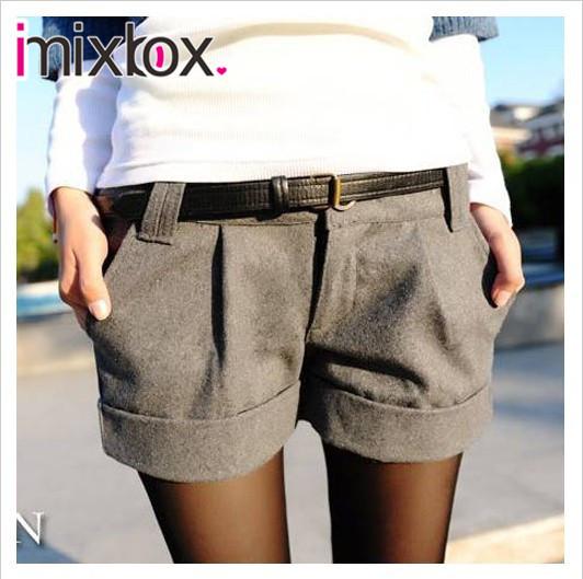 Женская turn-up w3317 короткие штаны прямо