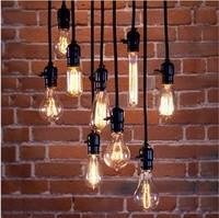 10component of product Light bulb pendant light nostalgia old fashioned screw-mount vintage light bulb bar special lighting