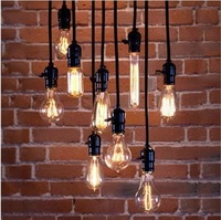 10component of product Light bulb pendant light nostalgia old fashioned screw-mount vintage light bulb bar special lighting