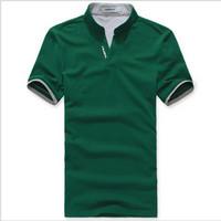 Freeshipping wholesale mens cotton multi-color T- shirt short sleeve plainmens T- shirts M~XXXL