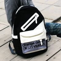 Canvas casual backpack school bag fashion backpack