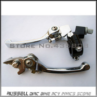 Folding Clutch and brake lever for dirt bike & dirt pit bike spare part motocross