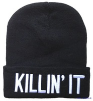Free Shipping Beauty Forever The Killin It beanie,Winter Hats Homies beanie,Wasted Beanie,Dope,Obey snapback caps
