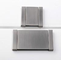 "Sliver Cabinet Wardrobe Cupboard Knob Drawer Invisible Door Pulls Handles 1.26"" 32mm MBS094-1"