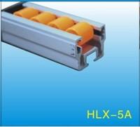 Black ABS/PE Flow Rail/Placon/Roller Track    HLX-Flow Rail-5A-P45