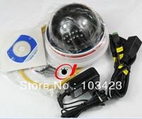 P2P Tech,  HD Wi-Fi Dome PTZ Camera H.264, Indoor IP Camera IR-Cut CCTV Camera, Free shipping