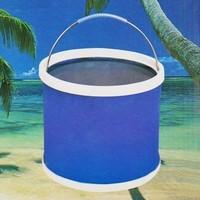 folding bucket car wash car bucket outdoor portable fishing bucket retractable car wash supplies 11L