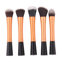 gold Professional Powder Blush Brush Facial Care Facial Beauty Cosmetic Stipple Makeup Tools Makeup Brush Loose Foundation Brush
