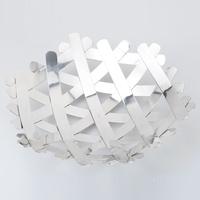 Quality bird nest shape stainless steel fruit basin fashion fruit plate basket