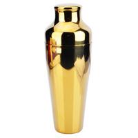 Golden cocktail shaker milk tea tools wine cup shaker