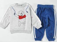 Newest 2015 Kids clothing set Baby clothes sets shirt + pants boys clothes set kids sports suits