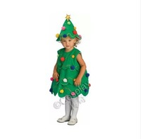 Free shipping,Christmas tree cosplay clothes for girls/kids/children,christmas costumes for joy,holiday dress,actor clothes.