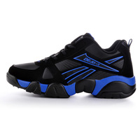 Delgado 2013 autumn and winter sport shoes male leather running shoes sports shoes casual plus velvet cotton-padded shoes