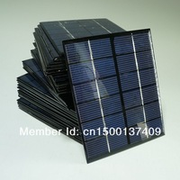 Wholesale! 6V 0.33A 2W Mini Solar Panels Solar Power 3.6V Battery Charge Solar Cell 136* 110*3 MM 10pcs/lot Drop Free Shipping
