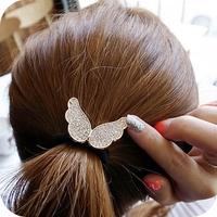 3978 hair accessory diamond small wings rubber band ultra elastic headband hair accessory female 8g