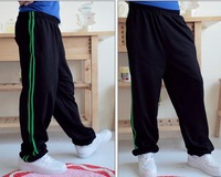 New Fashion Mens Women Casual Harem Baggy Size Hip Hop Dance Jogging Loose Sport Harem Streetwear Sweat Pants Slacks Trousers
