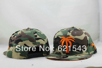 Special camouflage BLVD Coconut Trees snapbacks Baseball Caps Hats for Men & Women