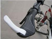 New Arrive Ergon Bar End Handlebar Cycling Grips Bicycle Mountain Bike MTB Ergonomic Bike MTB Rubber Aluminum Barend 2 color