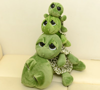 Plush toy  big eyes tortoise 45cm  doll girls gift t6643