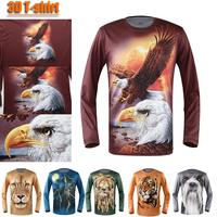 Hotsale 2013 women men animal uv protection 3d tshirts