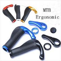 Bicycle Handlebar Cycling Grips Mountain Bike Stem Bar End MTB Ergonomic Bike BMX Parts Accessories