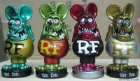 4PCS/set Star Wars RAT FINK Bobble Head Figure Bobble-head 4 Colors Birthday Gift