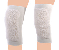 Free shipping Autumn and winter Artificial wool cashmere kneepads Warm windproof Knee pads