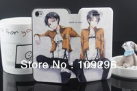 Attack On Titan&Shingeki No Kyojin Leather Cover Case Skin For Apple iPhone 5 5G 5S