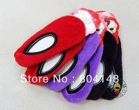 Children's Kids House Slippers  Hosiery Thick Warm Coral Velvet Non-Slip Floor Socks (4-6 years)