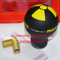 Universal MOMO ATMOIK Gear Knob Yellow Color MOMO Shift Knob