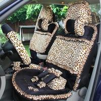 Car seat cover regal cartoon four seasons general car seat covers winter plush car covers