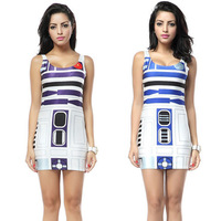 Artoo bodycon dress star wars black milk / galaxy milk style - BRAND NEW Free Shipping 01050214
