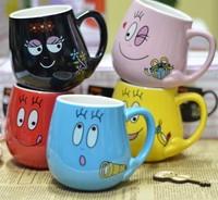Ceramic personalized cartoon mug cup tea cup