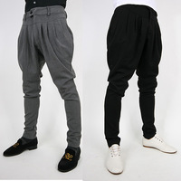 Hot Sale Long Mens Casual Fashion Harem Baggy Trousers Males Sports Trousers Asia Size M/L/XL/XXL