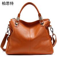 women handbag genuine leather,fashion handbag,shoulder bags,designer handbags,100% cowhide ,Nine kinds of color,Free shipping
