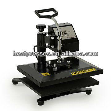 110V 220V HP230B 23x30cm t shirt heat press machine t shirt heat transfer print sublimation sublimation printing color random(China (Mainland))