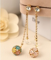 2014 New Designer Fancy Strip Ball Planted Diamonds Dust Plug for Mobile Phone Accessories Sp/mix $5 Order Free Shipping B074