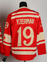 Free Shipping Wholesale&Retail Cheap Hockey Jerseys #19 Steve Yzerman 2014 Winter Classic jerseys Embroidery Logos Size M-3XL