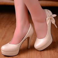 ENMAYER  Black light blue pink beige 2014 new fashion sexy wedding ladies woman platform high heel pumps and women shoes