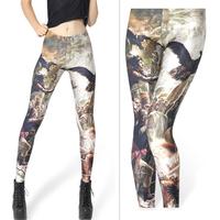 Fashion Character Animal Design Galaxy Leggings Women Casual Pants Stylish Legging