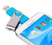 Smart Phone USB Flash Drives pen drives OTG external storage micro usb memory stick for Samsung Free shipping