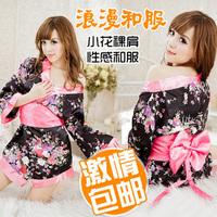 Women's sexy underwear sexy sleepwear kimono game uniforms the temptation to set